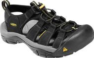 Men's Keen Newport H2 Black Sandal