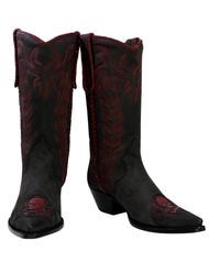Liberty Boot Co.'s Killaz Red Plague Cowboy Boot
