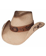 "Bullhide ""More Than a Memory"" Straw Hat"