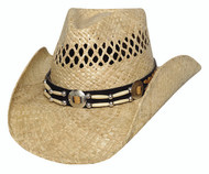 "Bullhide ""Ashland"" Straw Hat"