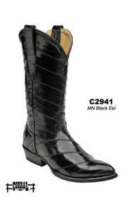 Men's Corral Black Eel Western Boot