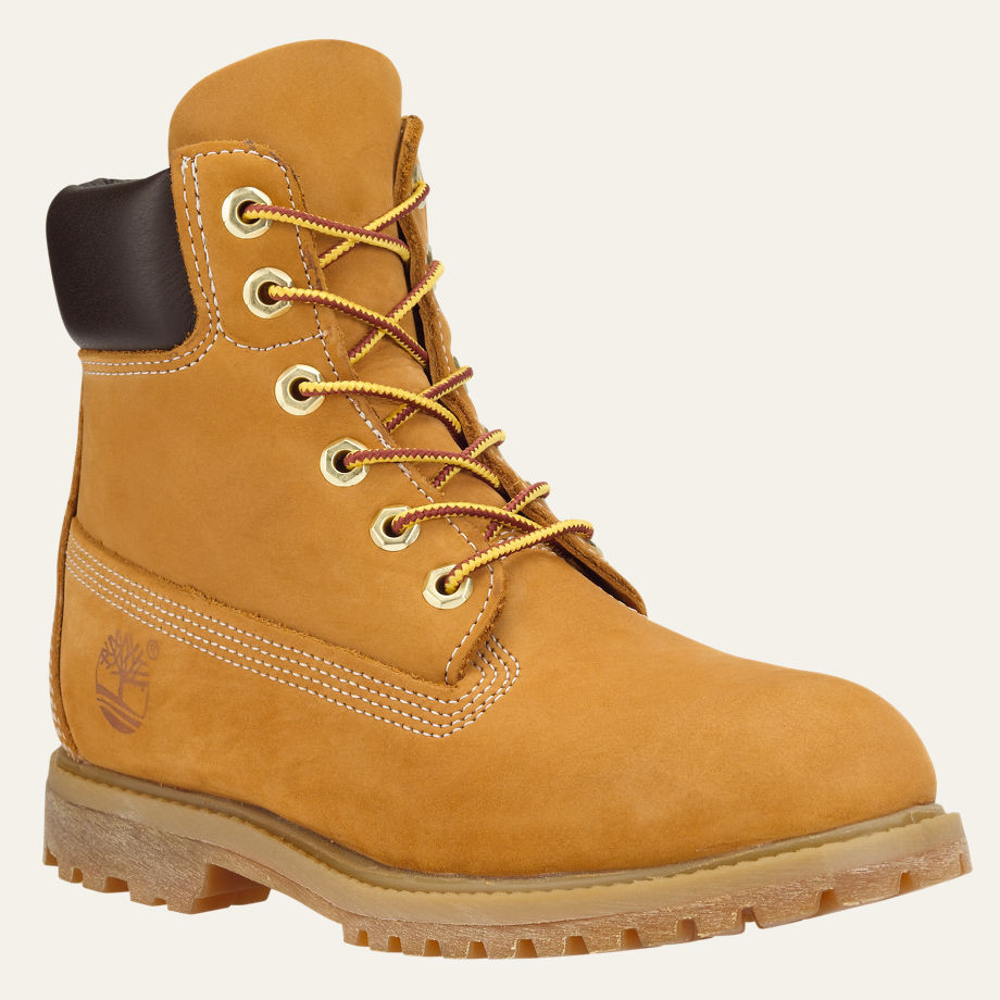 Women s Timberland 6-inch Premium Wheat Boot - Herbert s Boots and ... f263054b87