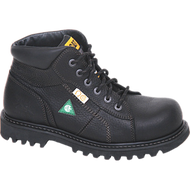 "CAT 6"" Confine Black Safety Boot"