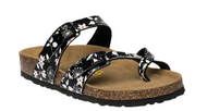 Women's Viking Tofino Black Floral Sandal