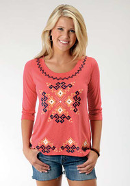 Women's Roper Tunic with Aztec Embroidery