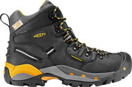 Keen Utility Men's Hamilton Black/Yellow Safety Boot FREE SHIPPING