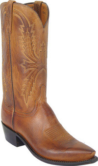 41193643b5c Lucchese Men's Tan Mad Dog Goat Western Boot
