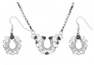 Montana Silversmiths Vintage Charm Pioneer Trailblazers Jewelry Set