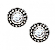 Montana Silversmiths Silver Pinpoints Solitaire Post Earrings