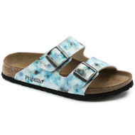 Birkenstock Papillio Arizona Pixel Blue Soft Footbed