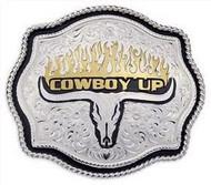 Montana Silversmiths Cowboy Up Buckle