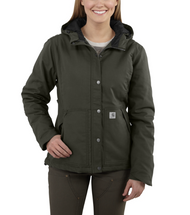 Women's Carhartt Full Swing Cryder Moss Jacket