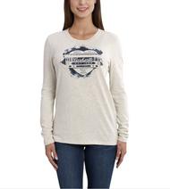 "Women's Carhartt Lockhart Graphic ""Rail Car Heart"" Long Sleeve T-Shirt"