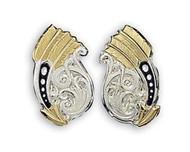 Montana Silversmiths Feather and Arrow Earrings