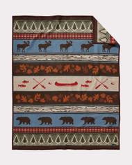 Pendleton Blanket Pine Lake Lodge Robe/Twin