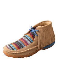 Women's Twisted X Driving Moccasin Serape Fringe