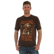 "Men's Wrangler ""Warning: Beware of Bull"" T-shirt"