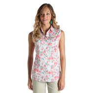 Women's Wrangler Floral Print Sleeveless Shirt