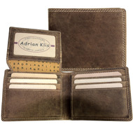 Adrian Klis Brown Bifold Wallet 212