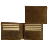 Adrian Klis Brown Bifold Wallet 211
