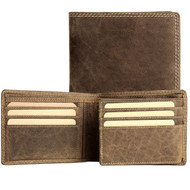 Adrian Klis Brown Bifold Wallet 213