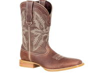 Men's Durango Gambler Tan Square Toe Boot