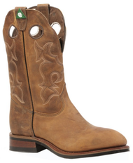 Men's Boulet Oiled Tan CSA Pull-On Roper Work Boot