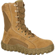 Rocky S2V Tactical Military Combat Boot - Coyote Brown