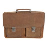 Adrian Klis Leather Briefcase