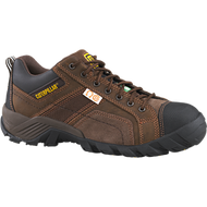 CAT Argon Brown Safety Shoe