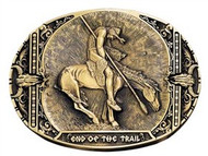 Montana Silversmiths End of the Trail Attitude Buckle