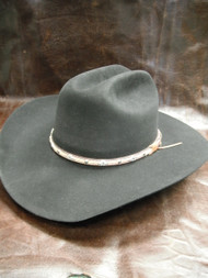 Larry Mahan 5X Brindle Black Felt Western Hat