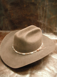 Larry Mahan 5X Brindle Brown Western Hat