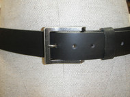 Keldon Black Leather Belt