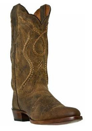 Men's Dan Post Tan Round Toe Western Boot
