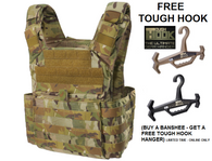 Banshee Plate Carrier – MULTICAM