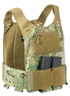 STEALTH Low Vis Concealable Plate Carrier - MULTICAM