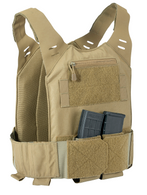 STEALTH Low Vis Concealable Plate Carrier - COYOTE