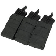 Condor Triple Open Top M4 Mag Pouch Black