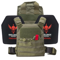 Shellback Tactical Defender Active Shooter Armor Kit Ranger Green