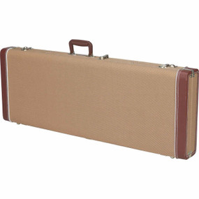 Fender Pro Series Stratocaster/Telecaster Tweed Guitar Case, 099-6105-300