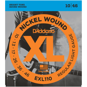 D'Addario EXL110 Electric Guitar Strings, Regular Light (EXL110)