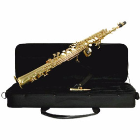 Mirage TS616L Student Bb Soprano Saxophone with Case (TS616L)
