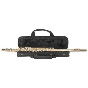 Palatino WI-806-FS Student C Flute, 16 Key Closed Hole - Silver Plated