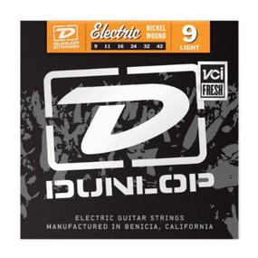 Dunlop DEN0942 Nickel Wound Electric Guitar Strings, Light .009-.042 (DEN0942)