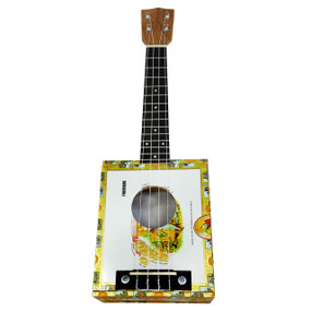 Cigar Box Ukulele Kit Complete with All Parts and Hardware