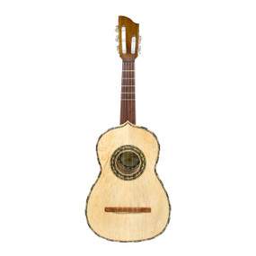 Paracho Elite Vihuela 5 String Deep Body Acoustic Latin Rhythm Guitar with Gig Bag (VIHUELA)