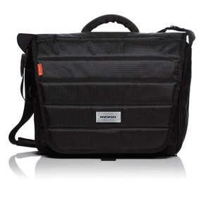 Mono EFX Series EFX-FAD Fader Messenger Style DJ/Audio/Laptop Gear Bag, Jet Black (EFX-FAD-BLK)