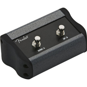 Fender 2 Button Programmable Footswitch for Mustang Series Amps, 008-0997-000
