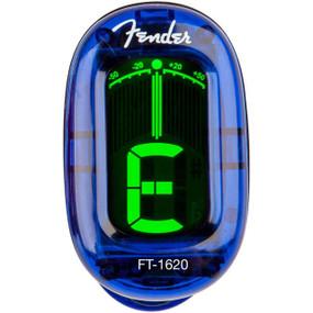 Fender FT-1620 California Series Clip On Chromatic Tuner, Lake Placid Blue 023-9981-002